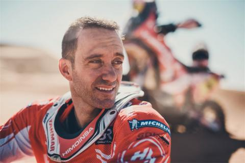 Gerard Farrés dejará las motos tras el Dakar 2018