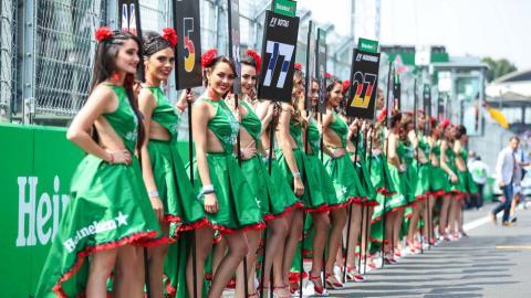 Grid girls Mexico