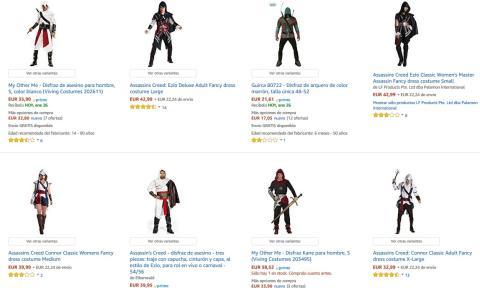 Disfraces de la Hermandad de Assassin's Creed