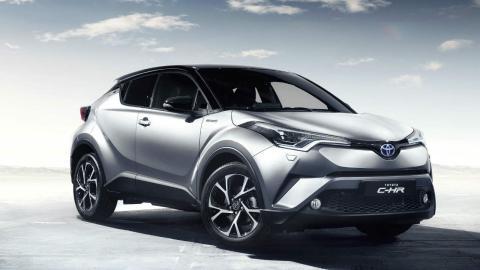 Los híbridos más vendidos en 2017: Toyota C-HR - 10.643 unidades
