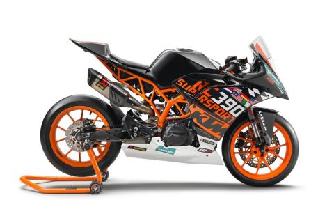 KTM RC390 R, la moto del Mundial de Supersport 300 que puede ser tuya