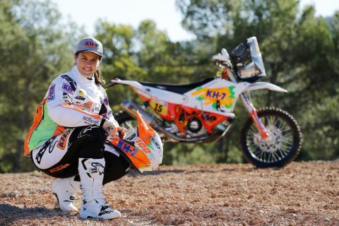 A Laia Sanz le encantaría correr el Dakar en coches, pero sobre todo con Seat
