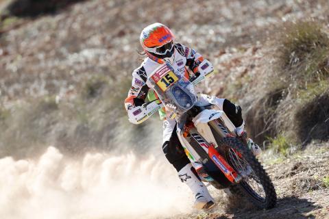Laia Sanz se prepara a conciencia para el Rally Dakar 2018