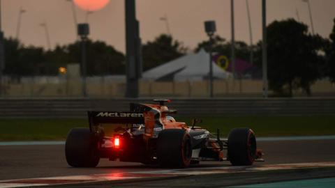 McLaren, en el GP de Abu Dhabi 2017