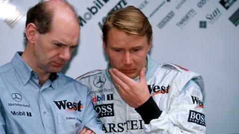 Newey en su época con McLaren