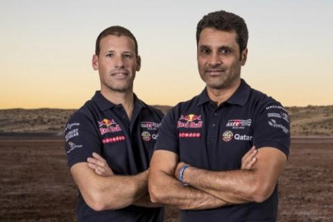 Pilotos Toyota Dakar
