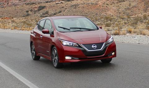 Prueba del Nissan Leaf 2018