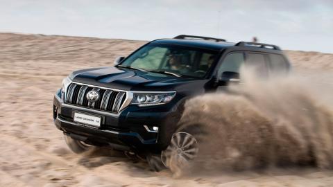 Prueba Toyota Land Cruiser 2018 Namibia