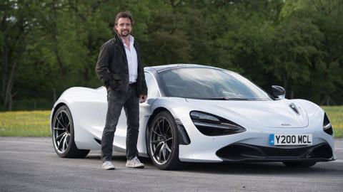 Richard Hammond McLaren 720S