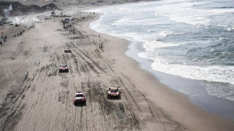 Salida linea Dakar
