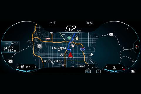 Sistema MBUX de Mercedes