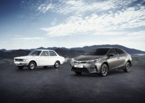 Toyota Corolla coche más vendido de la historia
