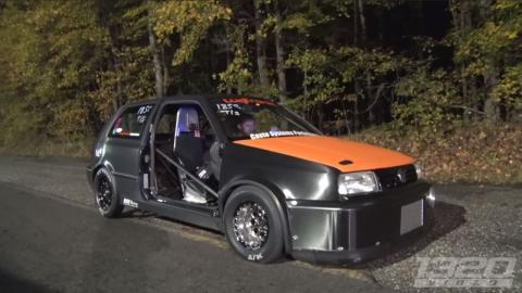 Volkswagen Golf GTI mk3 cuarto de milla