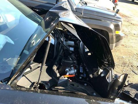 Accidente Tesla Model 3
