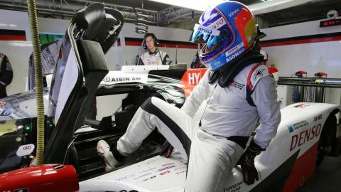 Alonso Toyota TS050