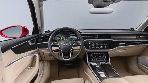 Audi A6 2018 (consola)