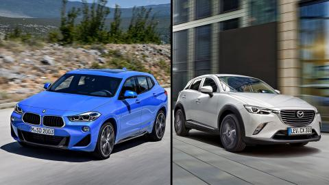 BMW X2 vs Mazda CX-3