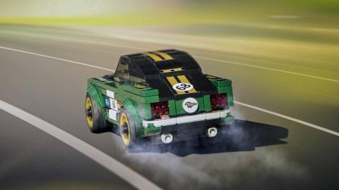 Ford Mustang de 1968 de Lego