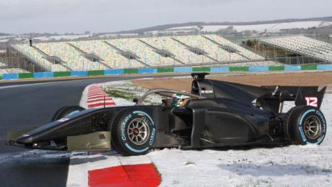Fórmula 2 nieve
