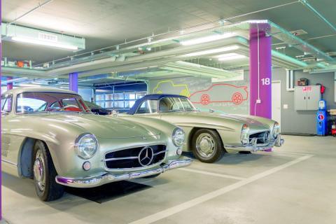 Garajes de lujo