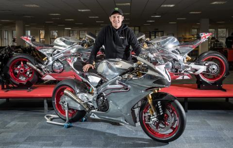 John McGuinness disputará el TT 2018 con Norton