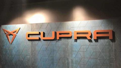 Logos de la nueva marca Cupra