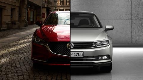 Mazda6 2018 vs Volkswagen Passat