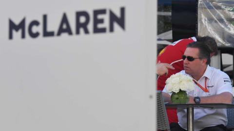 McLaren F1 Zak Brown