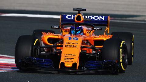 McLaren MCL33 pista