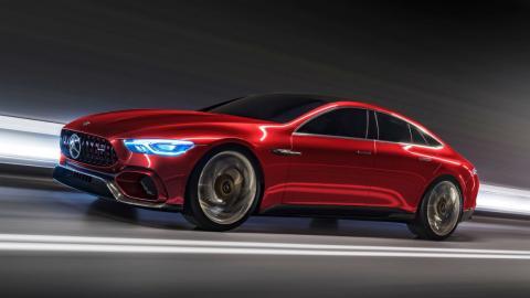 Mercedes-AMG GT de cuatro puertas