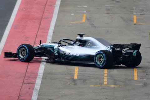 Mercedes W09 F1 2018