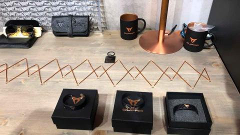 Merchandising de Cupra