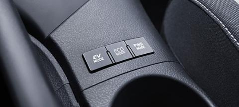 Modos de conducción coche híbrido