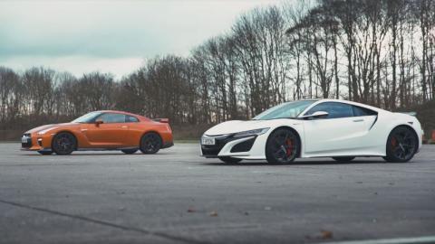 Nissan GT-R Nismo vs Honda NSX