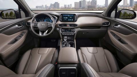 Nuevo Hyundai Santa Fe 2018 interior