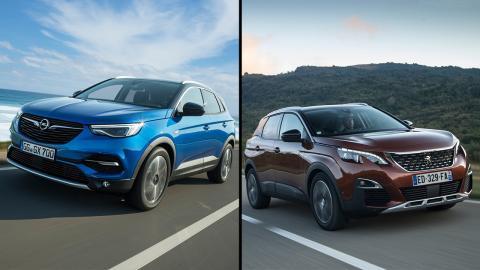 Opel Grandland X y Peugeot 3008