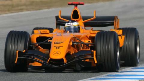 Test McLaren F1 De la Rosa