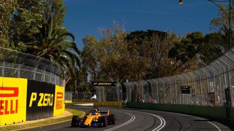 Alonso clasificación GP Australia F1 2018
