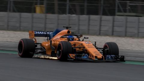 Alonso test Barcelona dia 4