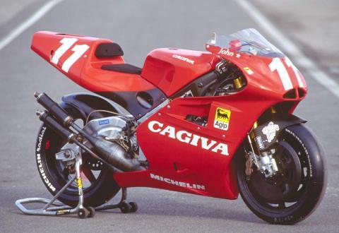 Cagiva podría resurgir como marca de motos eléctricas