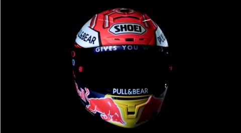 Casco Marc Márquez MotoGP 2018