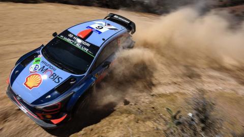 Dani Sordo en el WRC de México