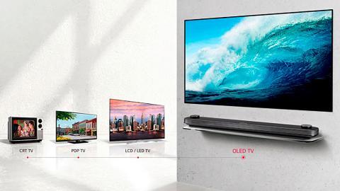 Evolución de las pantallas de LG