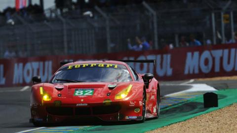 Giancarlo Fisichella en las 24 Horas de Le Mans