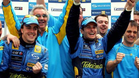 Giancarlo Fisichella gana el GP Australia 2005