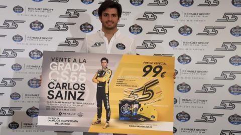 Grada Carlos Sainz