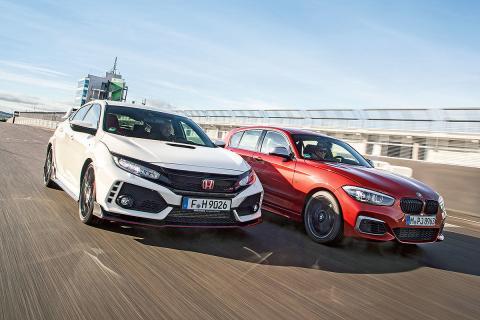 Honda Civic Type R vs BMW M140i