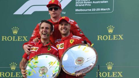 Iñaki Rueda Ferrari F1