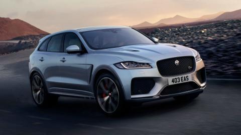 Jaguar F-Pace SVR 2018