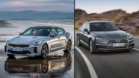 Kia Stinger vs Audi A5 Sportback